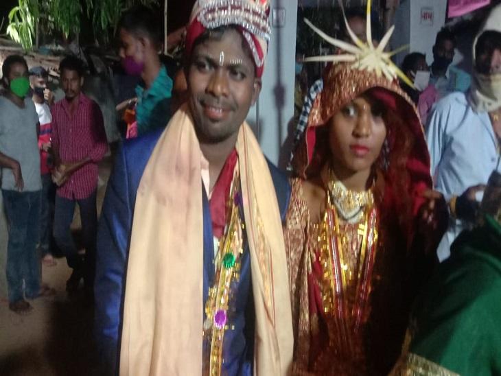 बालोद जिले के दल्लीराजहरा में नवविवाहिता ने शादी के दूसरे दिन ही खुदकुशी कर ली है। - Dainik Bhaskar