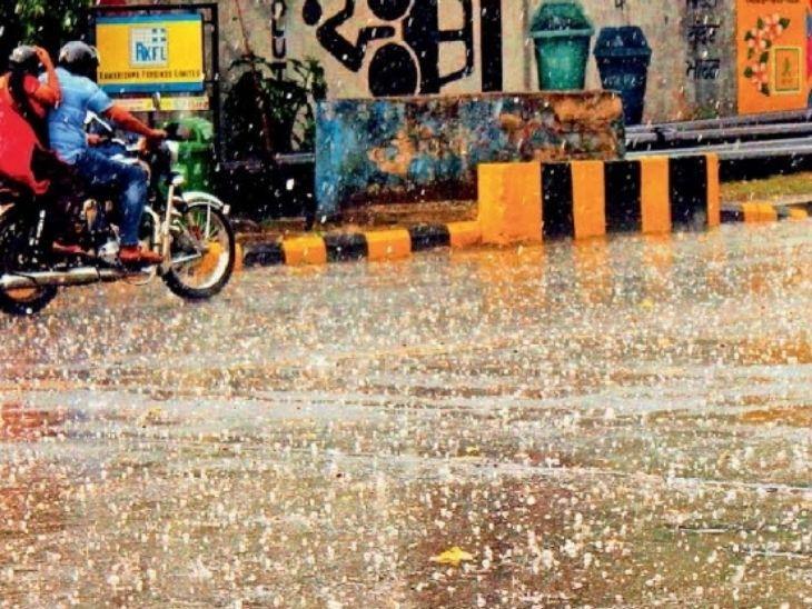 रांची में 40 KM की रफ्तार से आधी रात में चली आंधी, जमशेदपुर में 23 मीमी हुई बारिश, अगले 5 दिनों तक राज्य में बनी रहेंगी आधी- बारिश की स्थिति|रांची,Ranchi - Dainik Bhaskar