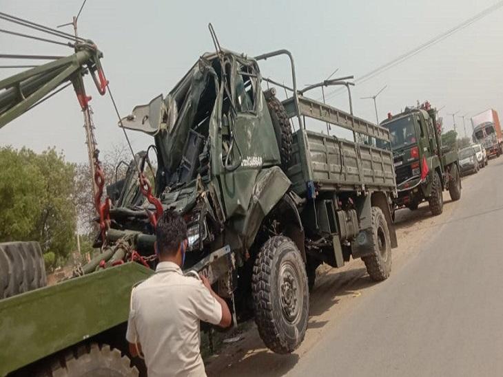 पुलिस ने ट्रक चालक के खिलाफ के� - Dainik Bhaskar