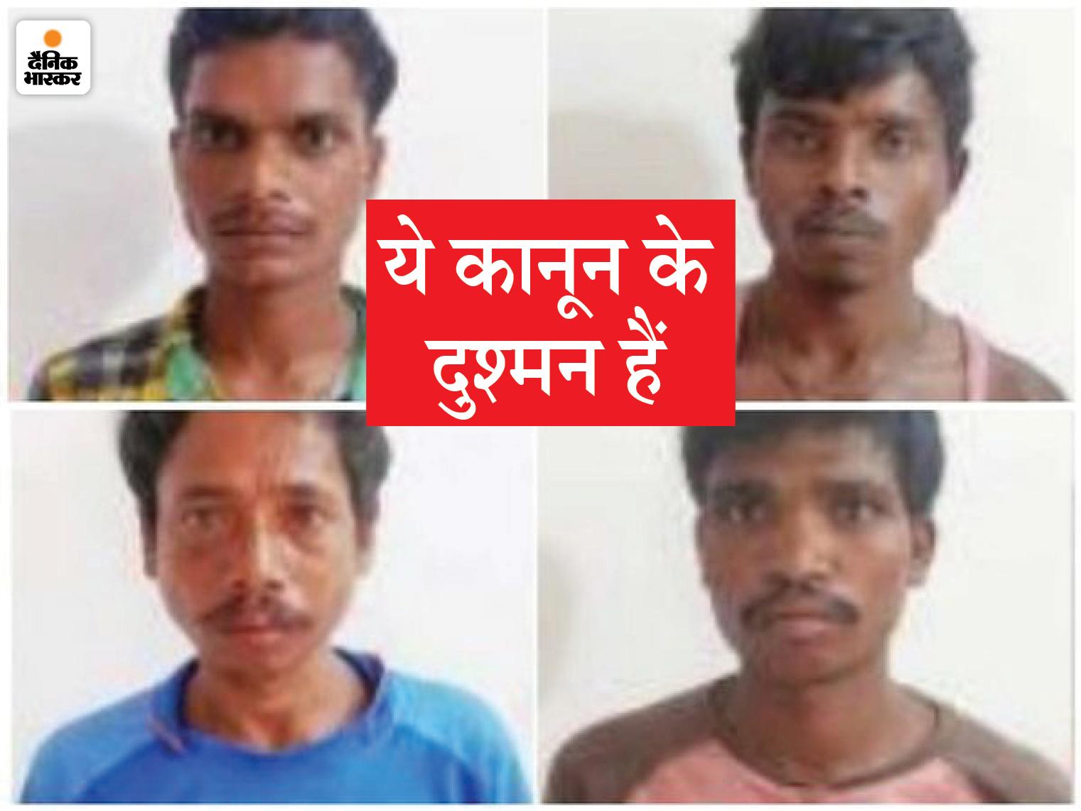सुकमा में नक्सलियों ने IED ब्लास्ट कर की फायरिंग, DRG के 2 जवान घायल; जवाबी कार्रवाई में भागे नक्सली, कैंप ध्वस्त, 4 गिरफ्तार|छत्तीसगढ़,Chhattisgarh - Dainik Bhaskar