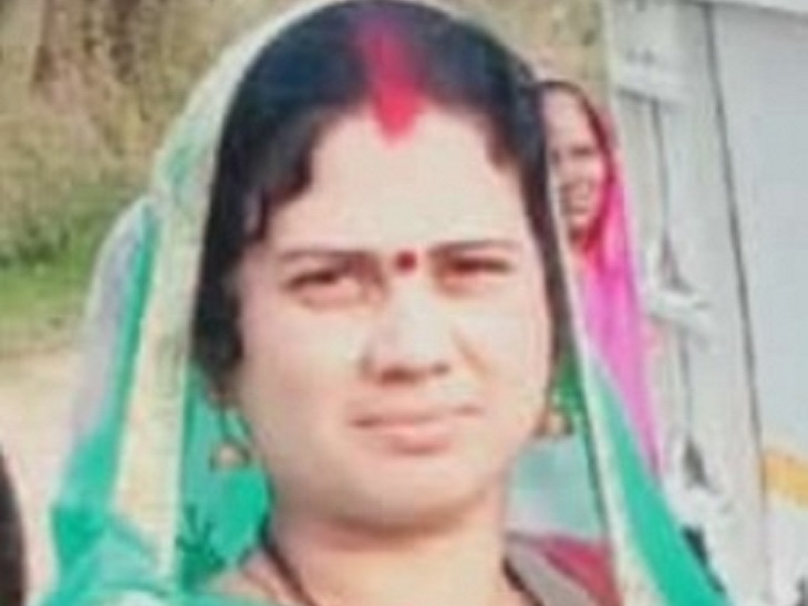 महिला एक महीने पहले ही पति को छोड़कर बेमेतरा से अपने प्रेमी के साथ रहने आ गई थी। - Dainik Bhaskar