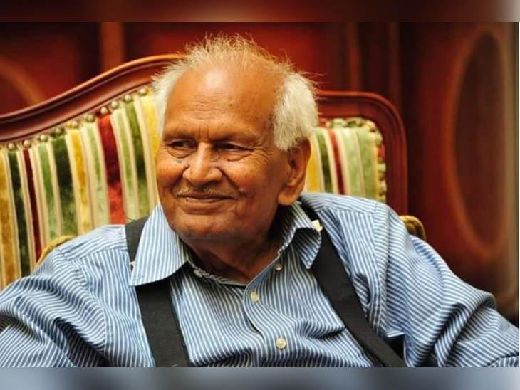 पंजाब के बटाला इलाके के गांव मिर्जा जान से ताल्लुक रखते रिटायर्ड IAAS DD भारद्वाज। इन दिनों वह फरीदाबाद में रह रहे थे और बीते दिन देहरादून में अंतिम सांस ली। -फाइल फोटो - Dainik Bhaskar