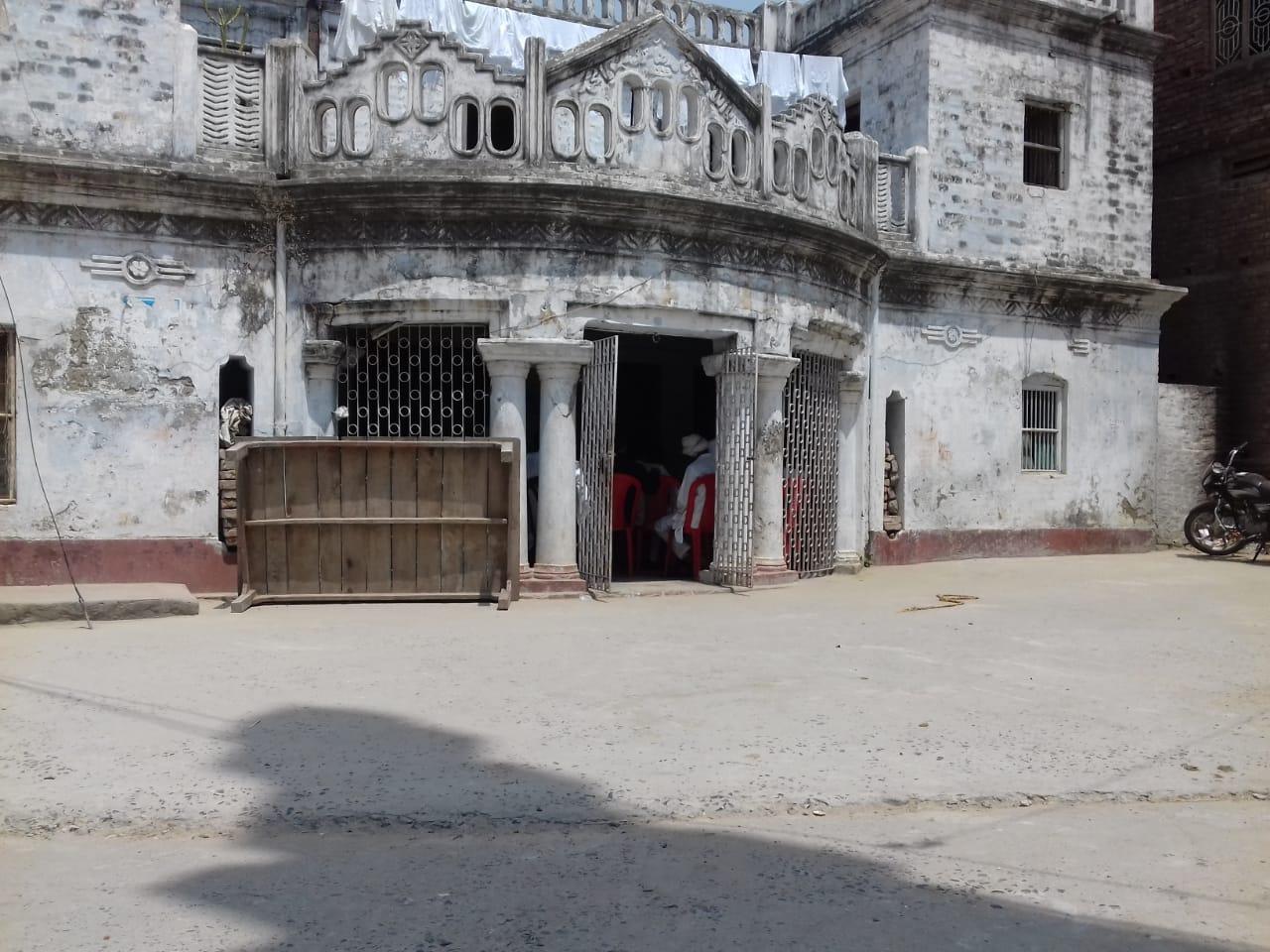 सीवान के प्रतापपुर स्थित मो. शहाबुद्दीन का घर।