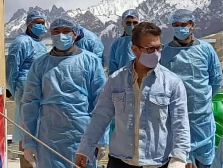 कोरोना से रिकवर होते ही काम पर लौटे आमिर खान, लद्दाख में शूट हो रहा है लाल सिंह चड्ढा फिल्म का फाइनल शेड्यूल|बॉलीवुड,Bollywood - Dainik Bhaskar