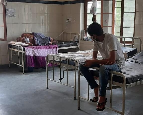 बीकानेर के कोविड अस्पताल का दृ - Dainik Bhaskar