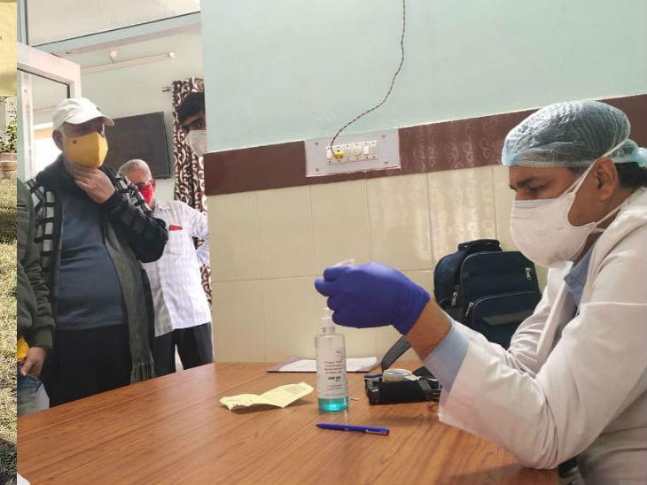 बीकानेर में दिनभर में 862 कोरोना पॉजिटिव आये, हर तीसरे टेस्ट में संक्रमण के निशान, ग्रामीण रोगियों की संख्या अनियंत्रित|बीकानेर,Bikaner - Dainik Bhaskar
