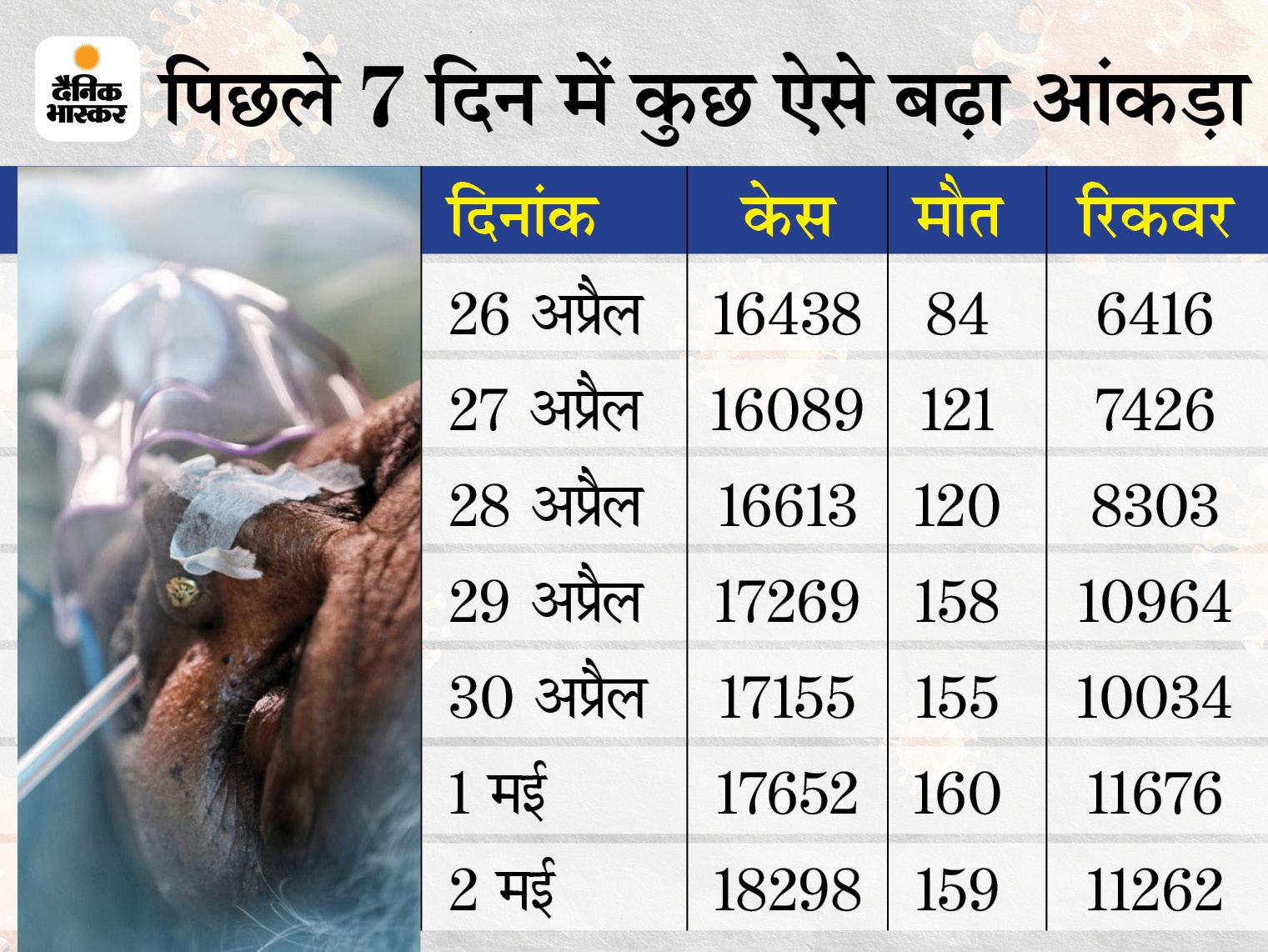 14 दिन का लॉकडाउन लगने के बाद भी संक्रमण की रफ्तार नहीं थमी, पॉजिटिविटी रेट 17 से 21 हुआ; आज से और सख्ती के साथ दूसरे चरण का लॉकडाउन शुरू|राजस्थान,Rajasthan - Dainik Bhaskar