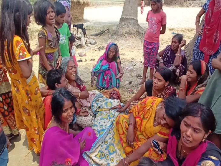 मछली मारने के विवाद को लेकर लड़ रहे थे दो पक्ष; बीच-बचाव करने गए अधेड़ को मारी गोली, विरोध में हंगामा नालंदा,Nalanda - Dainik Bhaskar