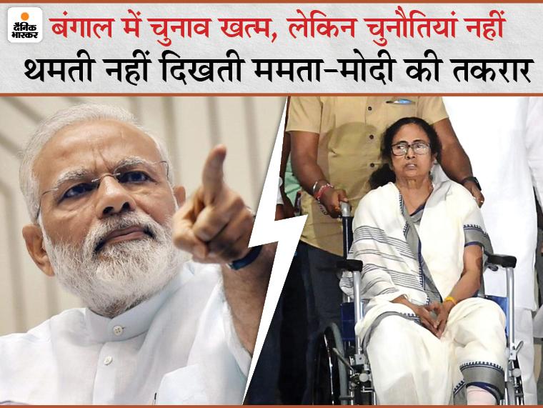ममता तीसरी बार सत्ता में, पर BJP जैसा मजबूत विपक्ष पहली बार; ऐसे में न तकरार थमती दिख रही, न सियासी हिंसा|DB ओरिजिनल,DB Original - Dainik Bhaskar