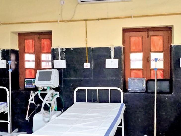 रायपुर में ऑक्सीजन सपोर्ट वाले 2170 बेड में से 1150 खाली, आईसीयू में भी 374 बेड उपलब्ध रायपुर,Raipur - Dainik Bhaskar