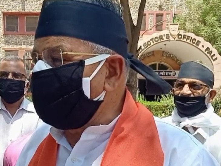 सांसद चौधरी ने कहा- ममता बनर्जी और टीएमसी के नेताओं के इशारे पर हुई भाजपा कार्यक्ताओं की हत्या|पाली,Pali - Dainik Bhaskar