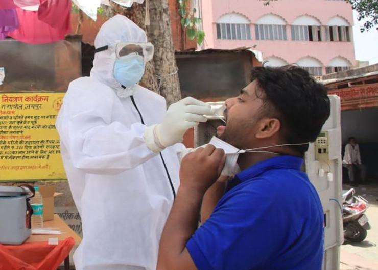 एक बार RTPCR टेस्ट पॉजिटिव आने पर स्वस्थ होने पर दोबारा टेस्ट करवाने की जरुरत नहीं: चिकित्सा विभाग जयपुर,Jaipur - Dainik Bhaskar