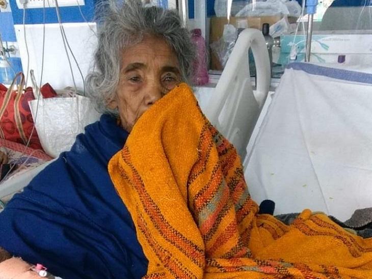 पूर्व प्रधानमंत्री राजीव गांधी को कंदमूल खिलाने वाली बल्दी बाई स्वस्थ होकर घर लौंटी, 10 दिन पहले हुई थीं अस्पताल में भर्ती|छत्तीसगढ़,Chhattisgarh - Dainik Bhaskar
