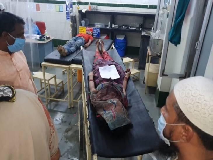 चरित्र संदेह पर पति ने किराएदार और फिर पत्नी काे चाकू से गोद डाला, हत्या के बाद मामा के टाल में छिपा मिला|जबलपुर,Jabalpur - Dainik Bhaskar
