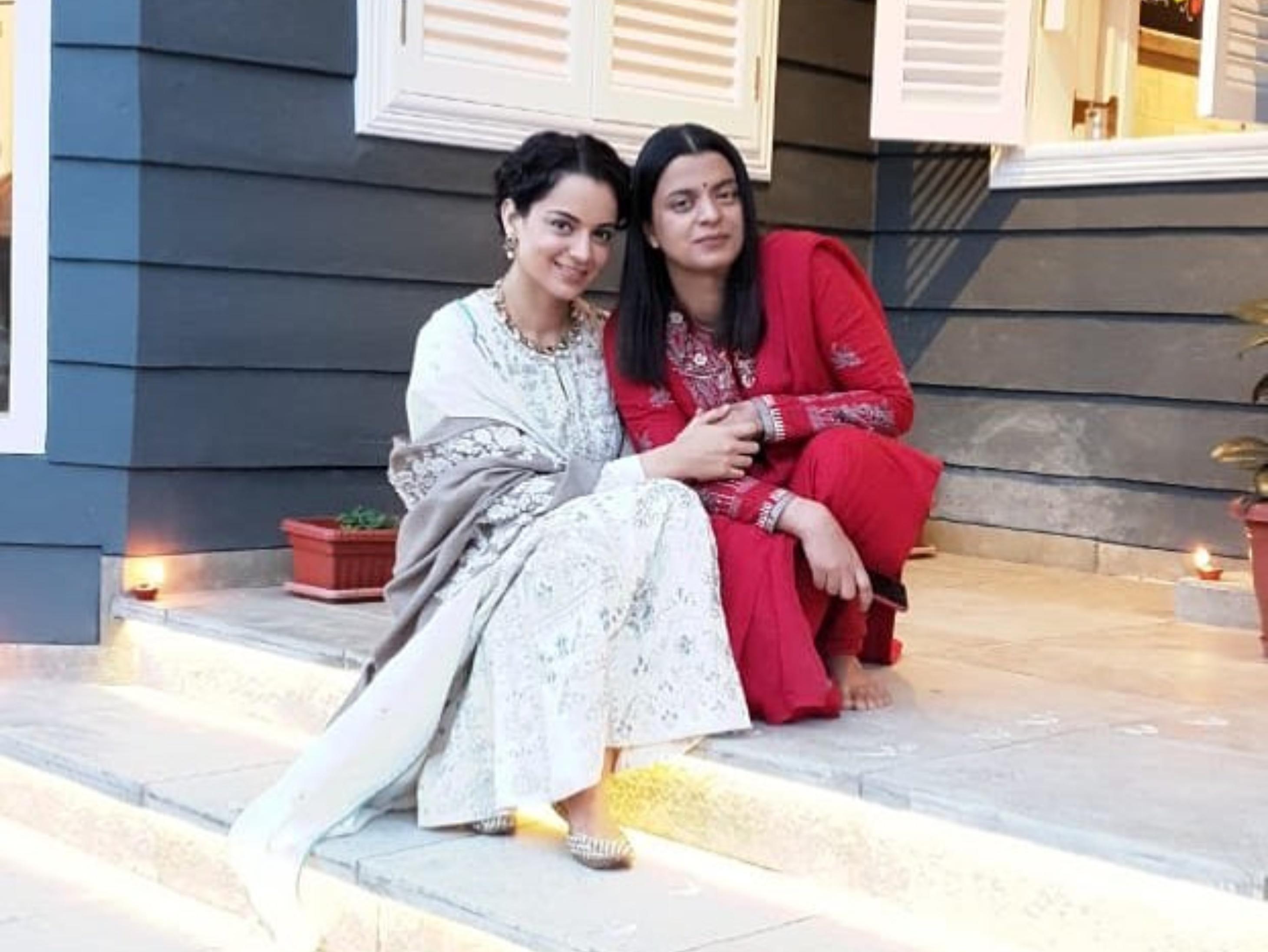 रंगोली ने कहा- आनंद भूषण पर केस करूंगी, क्योंकि वो कंगना के नाम का फायदा उठाने की कोशिश कर रहे|बॉलीवुड,Bollywood - Dainik Bhaskar