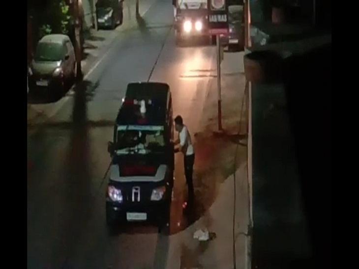 जयपुर में गश्त पर निकले पुलिसकर्मियों ने वसूली कर ट्रक छोड़ा, हेड कांस्टेबल सहित 3 सस्पेंड|राजस्थान,Rajasthan - Dainik Bhaskar