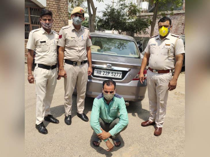 कोरोना सेफ्टी प्रोटोकॉल की निभा रही पुलिस ने नाके पर रोकी कार, 5 किलो अफीम के एक युवक काबू हरियाणा,Haryana - Dainik Bhaskar