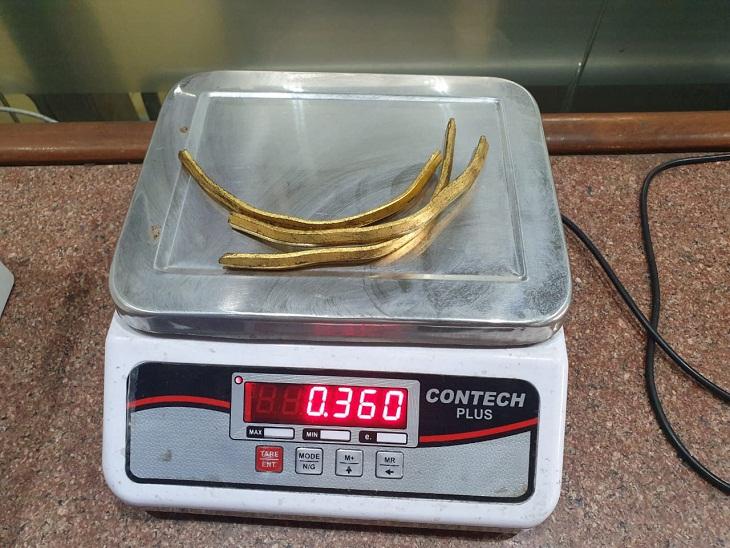 360 ग्राम सोने का वजन - Dainik Bhaskar