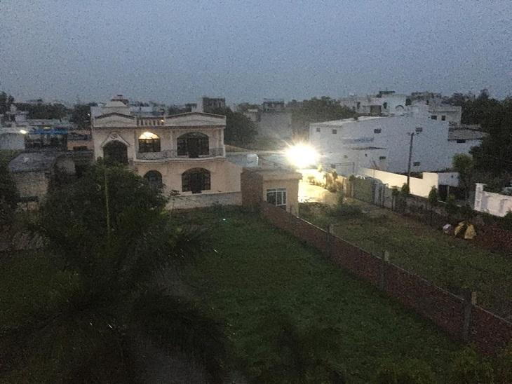 बारिश के बाद पानीपत का मौसम। - Dainik Bhaskar