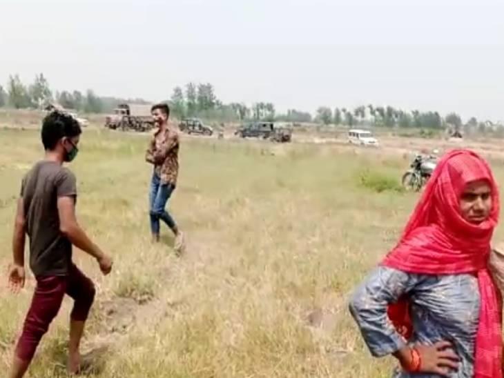 हरियाणा यूपी को जोड़ने वाले सीमा के आखिरी जिले बागपत में बड़ा बवाल हो गया।