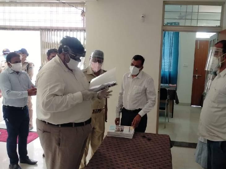रीवा पुलिस लाइन में खोला गया 22 बिस्तरों का कोविड केयर सेंटर, अधिकारियों से लेकर कर्मचारियों के लिए रहेगी व्यवस्था|रीवा,Rewa - Dainik Bhaskar