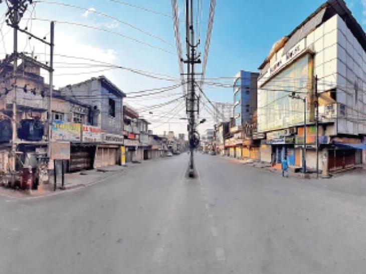 लाॅकडाउन में शहर में आ ज से थोड़ी राहत, बैन कारोबार खोला तो 30 दिन तक सील|रायपुर,Raipur - Dainik Bhaskar