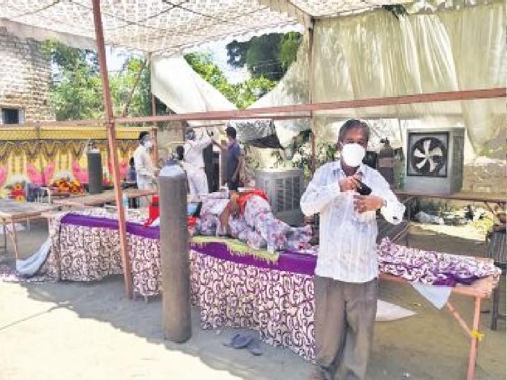 35% मामले गांवों में; 30 दिन में 15 गुना तक बढ़े एक्टिव केस, ग्लूकोज चढ़ाकर कोरोना भगा रहे लोग|जयपुर,Jaipur - Dainik Bhaskar