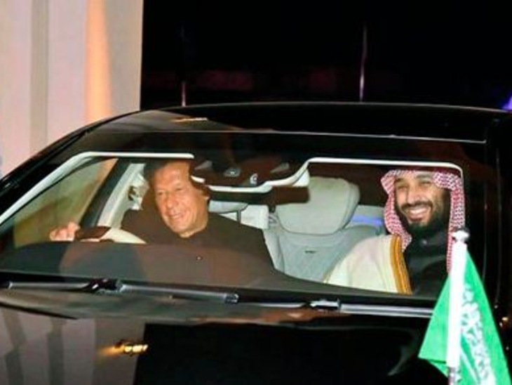 इमरान-आर्मी चीफ का सऊदी दौरा:पाकिस्तानी मीडिया का दावा- प्रिंस सलमान फिर कर्ज देंगे, बदले में PAK इजराइल को मान्यता देगा
