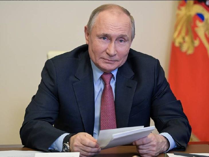 व्लादिमीर पुतिन ने स्पूतनिक वैक्सीन की तुलना रूसी राइफल से की, बोले- ये AK-47 जितनी विश्वसनीय, मॉर्डन और अप-टु-डेट विदेश,International - Dainik Bhaskar
