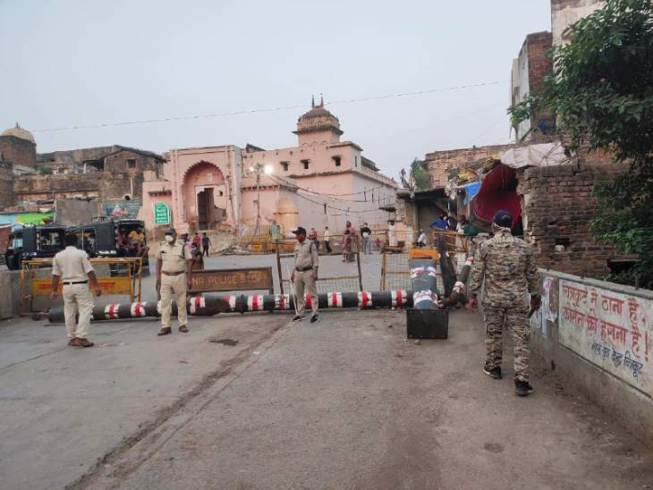 मध्यप्रदेश की सीमा से लगे UP के जिलों में तेजी से फैल रहा कोरोना, पुलिस की टीमें बॉर्डर पर तैनात; जरूरी होने पर ही आने-जाने की अनुमति|रीवा,Rewa - Dainik Bhaskar