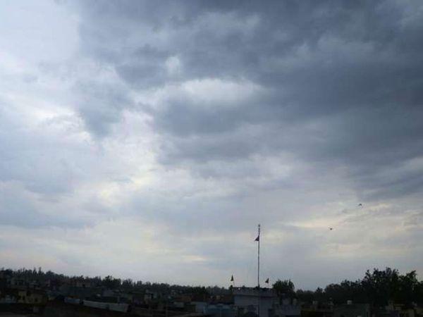 आज आंधी के साथ बूंदाबांदी के आसार, 3 दिन आसमान साफ रहेगा, फिर 2 दिन बारिश|जालंधर,Jalandhar - Dainik Bhaskar