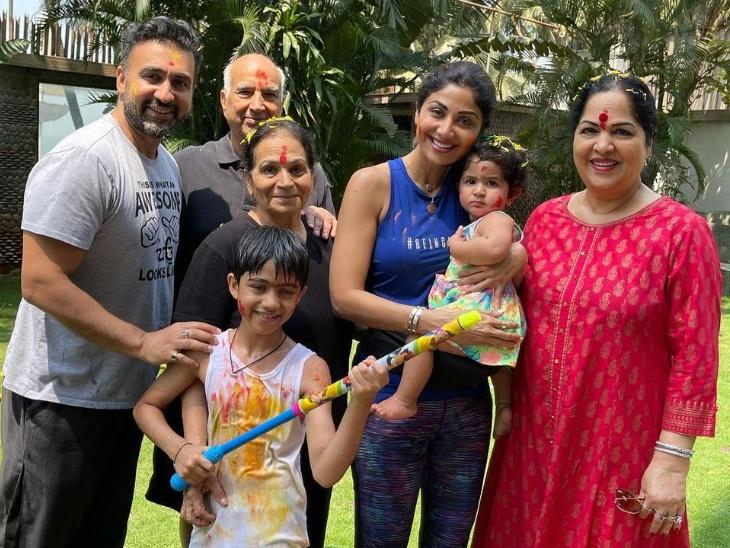 शिल्पा शेट्टी की एक साल की बेटी, बेटा, पति, मां और सास-ससुर पॉजिटिव, दो स्टाफ मेंबर भी संक्रमित बॉलीवुड,Bollywood - Dainik Bhaskar
