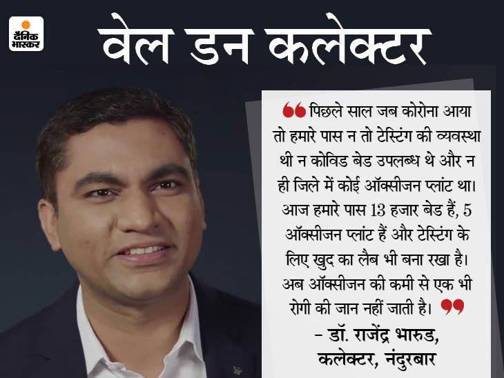 गरीबी में पले-बढ़े, फिर IAS बने, आज इनके कोरोना कंट्रोल करने के मॉडल की देश भर में तारीफ हो रही है|DB ओरिजिनल,DB Original - Dainik Bhaskar
