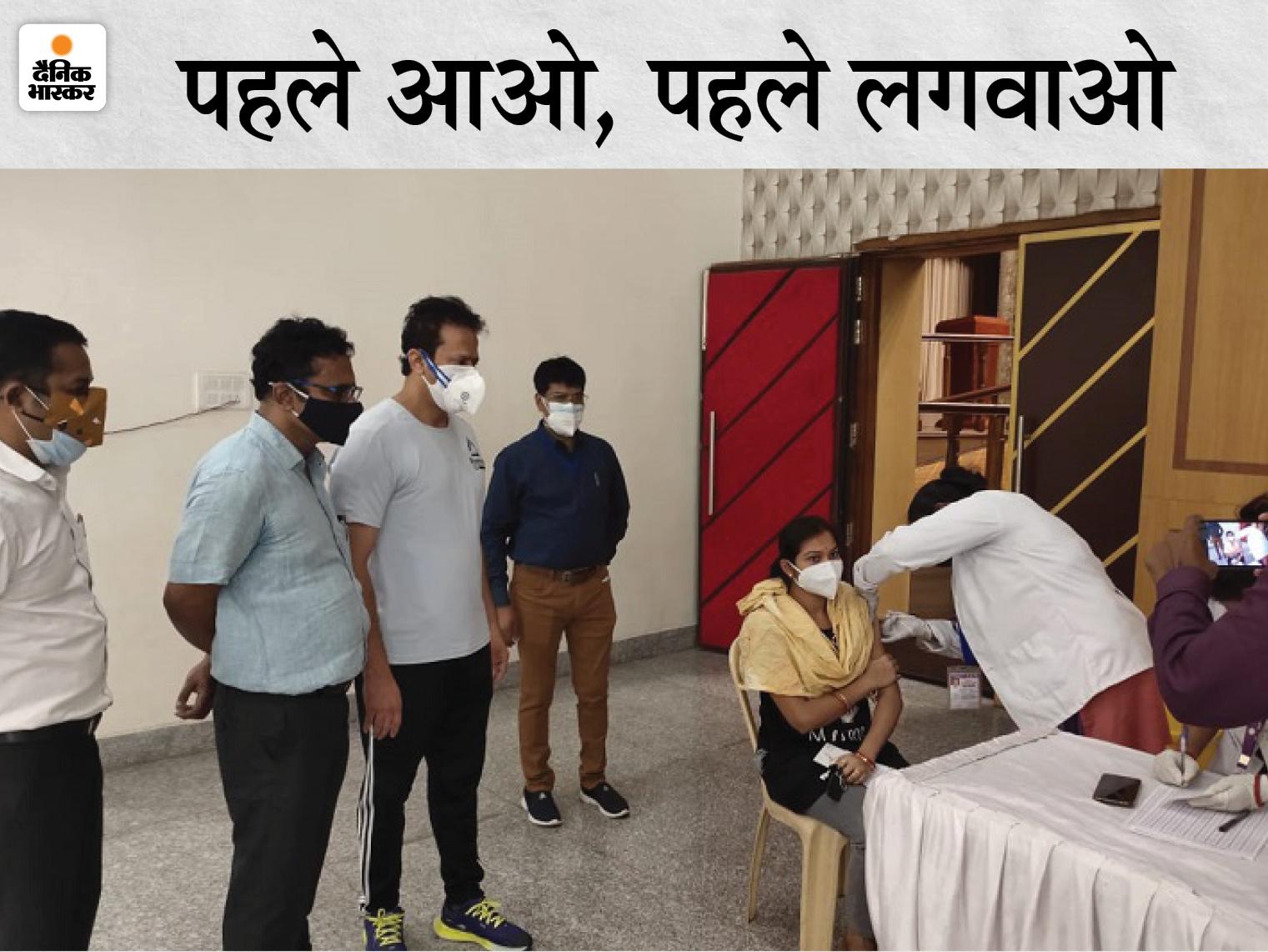 पूरे राज्य में एक दिन में 36 हजार लोगों ने लगवाया टीका, अंत्योदय के 3 हजार और APL के 21 हजार से ज्यादा लोगों ने करवाया वैक्सीनेशन रायपुर,Raipur - Dainik Bhaskar