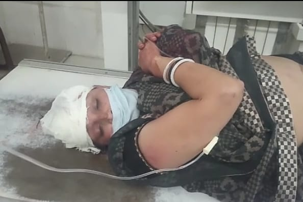 घायल महिला सुनीता