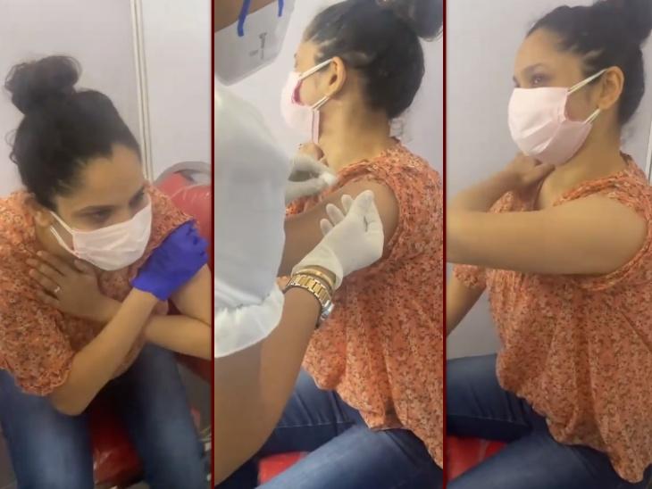 सुशांत की एक्स गर्लफ्रेंड अंकिता लोखंडे ने लिया कोविड 19 वैक्सीन का पहला डोज, इंजेक्शन से डरते हुए एक्ट्रेस हुईं जमकर ट्रोल|बॉलीवुड,Bollywood - Dainik Bhaskar