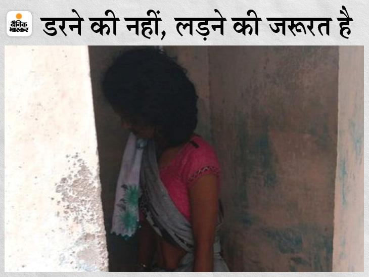 बिलासपुर में संक्रमित महिला ने घर के टॉयलेट में फंदा लगाकर जान दी; 6 दिन पहले तबीयत हुई थी खराब, रिपोर्ट आने के बाद से डरी हुई थी|बिलासपुर,Bilaspur - Dainik Bhaskar