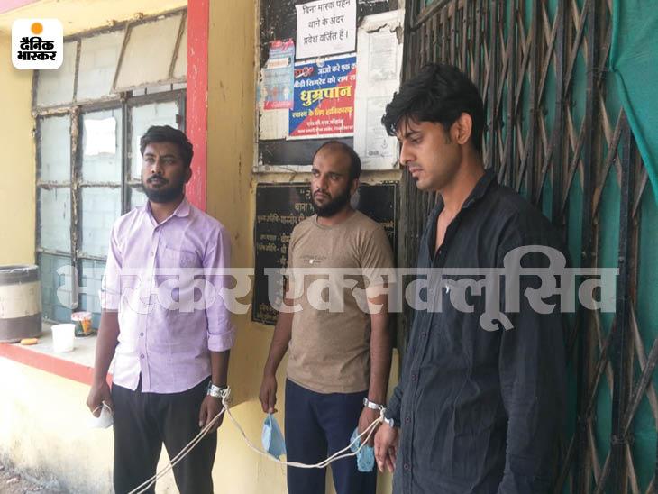 बांग्लादेश का इंजेक्शन इंदौर में बिक रहा था, पुलिस ने ग्राहक बन कर 17 हजार में तय किया सौदा, रेमडेसिविर मिलते ही 3 को दबोचा|इंदौर,Indore - Dainik Bhaskar