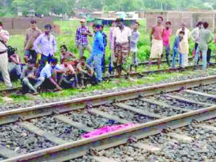 परिवार को मंजूर नहीं थी शादी तो प्रेमी-प्रेमिका ने मौत को गले लगाया; कटनी-उमरिया रेलवे ट्रैक पर सुसाइड|जबलपुर,Jabalpur - Dainik Bhaskar