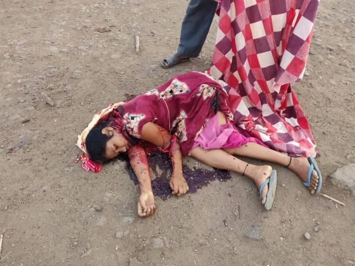 5 साल पुराने विवाद में मायके आई महिला की गर्दन, पीठ और पैर-हाथ पर कुल्हाड़ी से वार कर मौत के घाट उतारा, आरोपी गिरफ्तार|जबलपुर,Jabalpur - Dainik Bhaskar
