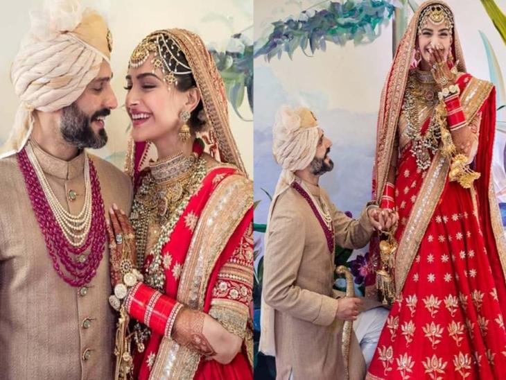 sonam kapoor and anand ahuja completes three years of marriage, know their  interesting love story | आनंद आहूजा अपने दोस्त के साथ करा रहे थे सोनम कपूर  की सेटिंग, खुद कर बैठे