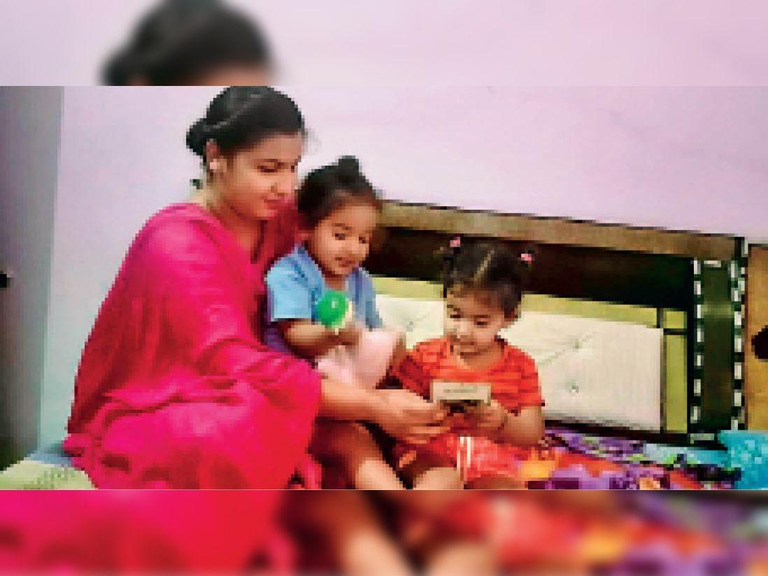 डेढ़ साल से कोरोना आइसोलेशन वार्ड में ड्यूटी दे रहीं गुरप्रीत कौर, पति विदेश में है, जुड़वा बच्चों का भी रख रहीं ध्यान गुरदासपुर,Gurdaspur - Dainik Bhaskar