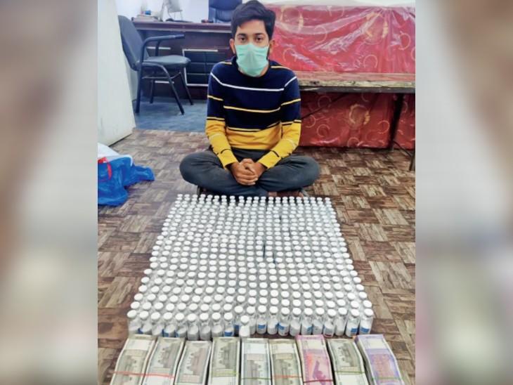 ग्लूकोज और नमक से1 लाख रेमडेसिविर तैयार कर देशभर में बेचा,सूरत में बनाकर मुंबई के रास्ते करते थे सप्लाई इंदौर,Indore - Dainik Bhaskar