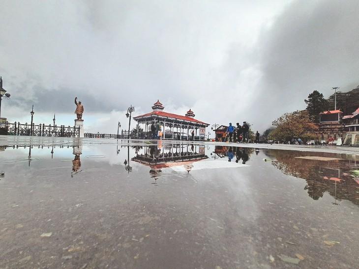 हिमाचल में 3 दिन अंधड़ के साथ भारी बारिश और ओलावृष्टि का ऑरेंज अलर्ट|शिमला,Shimla - Dainik Bhaskar