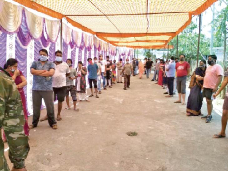 रायपुर में 718 और प्रदेश में 12239 नए मरीज, 223 मौतें भी; 18+ वैक्सीनेशन वोटिंग जैसा उत्साह रायपुर,Raipur - Dainik Bhaskar