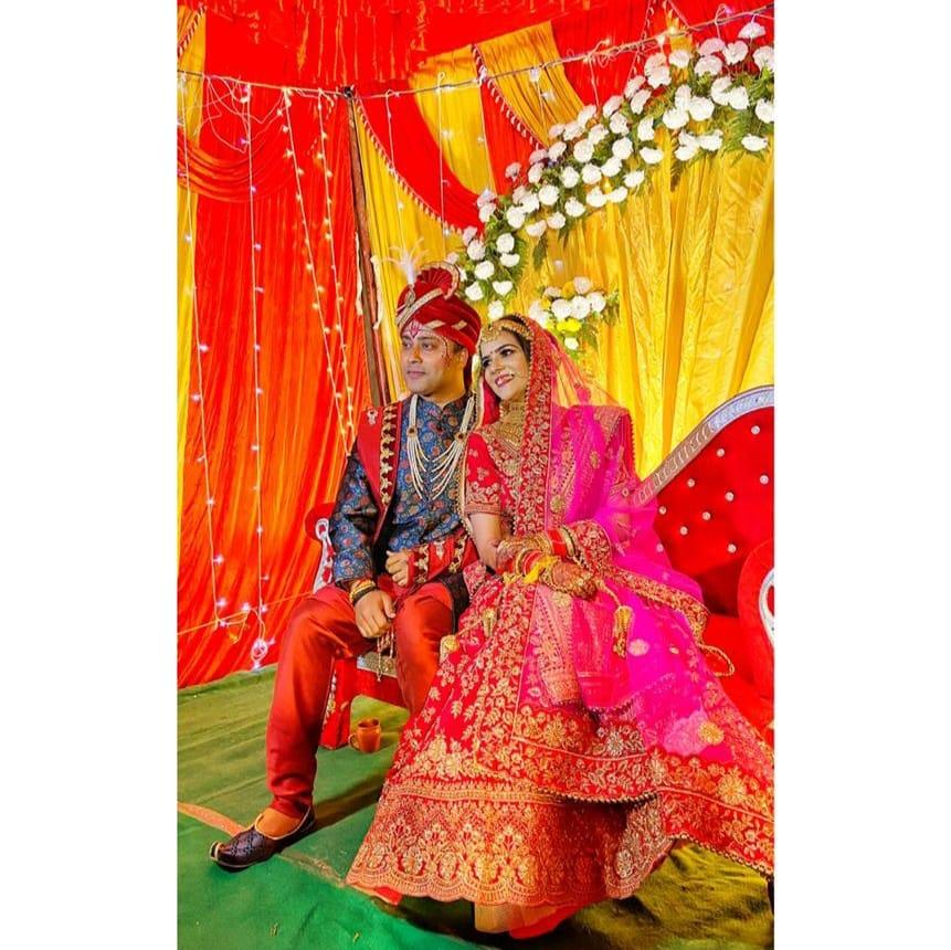 पत्नी ज्योति के साथ राहुल। -फाइल फोटो।