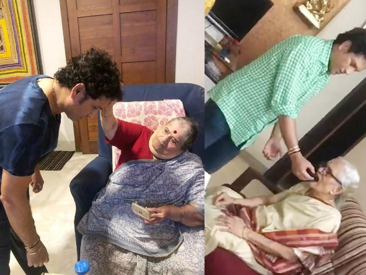 सचिन ने कहा- मां के लिए आप हमेशा बच्चे रहते हैं, CSK का ट्वीट- हमारी पहली और बेस्ट सुपर हीरो क्रिकेट,Cricket - Dainik Bhaskar