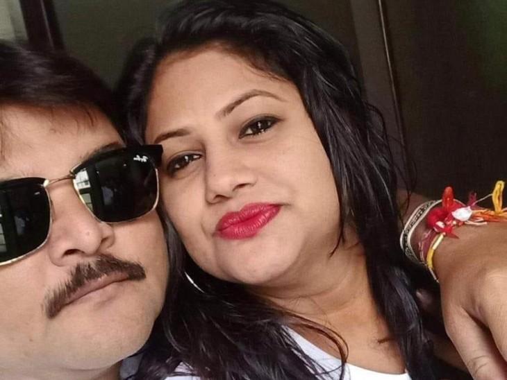 संक्रमित पति की मौत; खबर सुन पत्नी अस्पताल गई शव देखा और नौवीं मंजिल से कूदकर जान दे दी इंदौर,Indore - Dainik Bhaskar