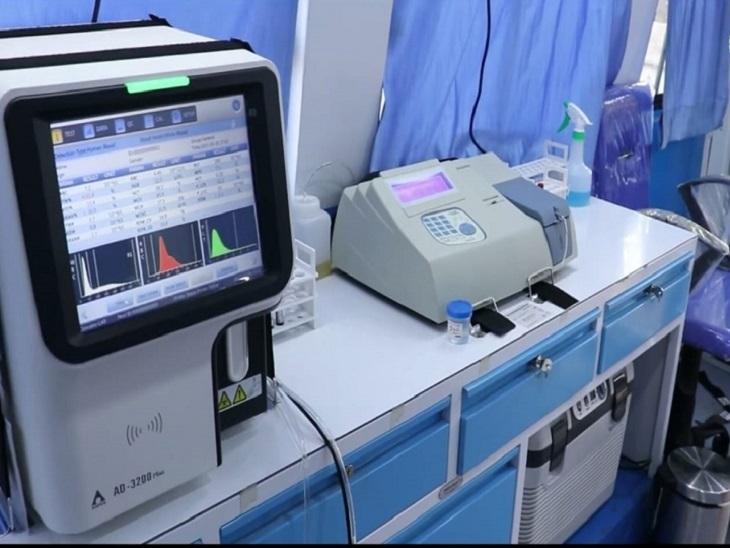 MMU में जांच करने के उपकरण जिसे शामिल किया गया है।