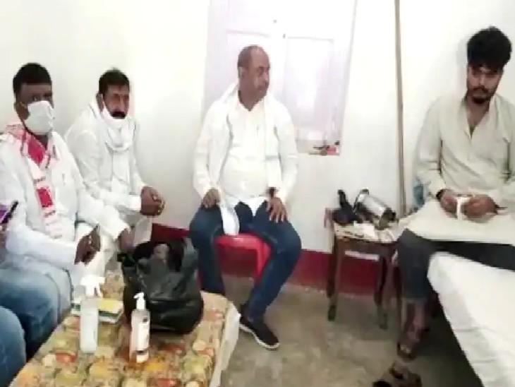 सवाल पर JDU MLC बोले- राजनीति में कुछ भी संभव है; शहाबुद्दीन की मौत के बाद पार्टी ने राधाचरण सेठ को उनके बेटे से मिलने भेजा|बिहार,Bihar - Dainik Bhaskar